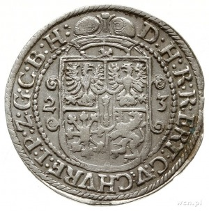 ort 1623, Królewiec, bez znaku mennicy na końcu napisu ...