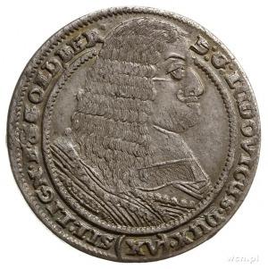 15 krajcarów 1662, Brzeg; F.u.S. 1883, E./M. 45 (R) -mo...