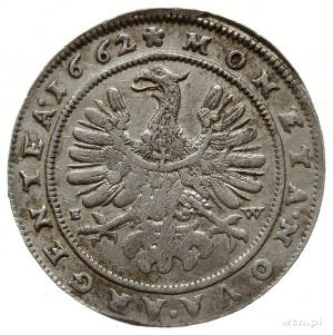 15 krajcarów 1662, Brzeg; F.u.S. 1910, E./M. 75 (R); ba...