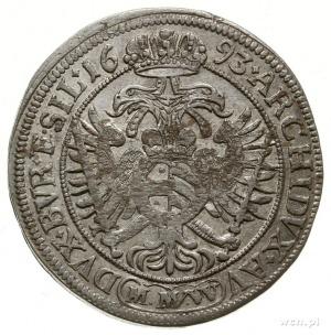 15 krajcarów 1683/M.M.W, Wrocław; F.u.S. 591, E./M. - n...