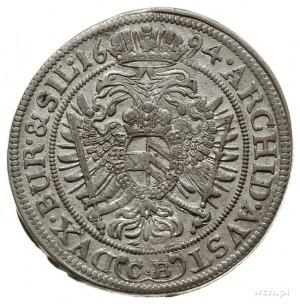 15 krajcarów 1694/C.B., Brzeg; F.u.S. 729, E./M. 190 (R...