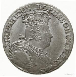 6 krajcarów 1756/B, Wrocław; F.u.S. 1042, Olding 300, S...