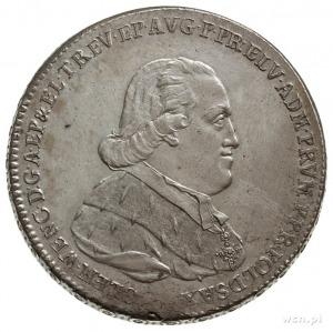 talar 1794, Koblencja, Aw: Popiersie w prawo i napis wo...