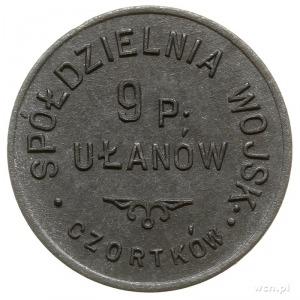 Czortków - 20 groszy Spółdzielni Wojskowej 9 Pułk Ułanó...