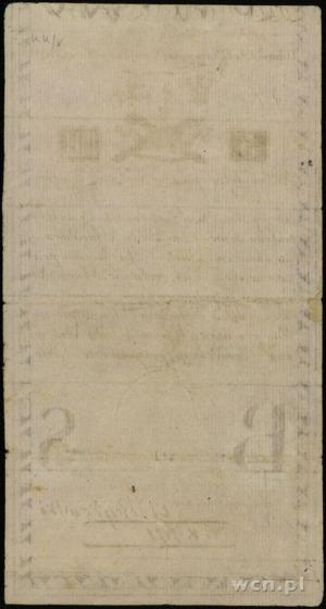 5 złotych polskich 8.06.1794; seria N.A.1, w klauzuli ...