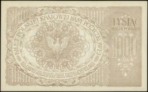 1.000 marek polskich 17.05.1919; seria ZO, numeracja 47...