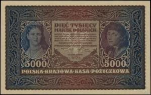 5.000 marek polskich 7.02.1920; seria II-R, numeracja 5...