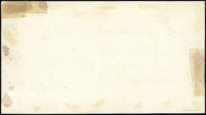 projekt (makieta) strony odwrotnej do banknotu 100 złot...
