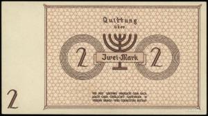 Der aelteste der Juden in Litzmannstadt; 2 marki 15.05....