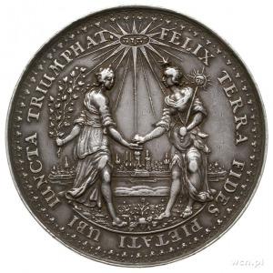 medal autorstwa Jana Höhna starszego, wybity około 1642...