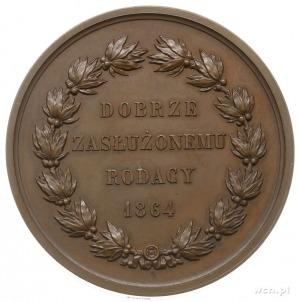 Aleksander hrabia Fredro 1864, medal autorstwa Barre'a,...