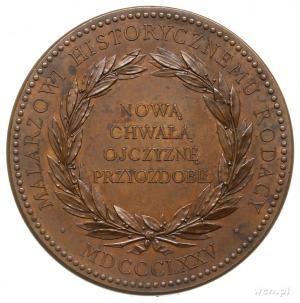 Jan Matejko - medal 1875, autorstwa Barre'a, upamiętnia...