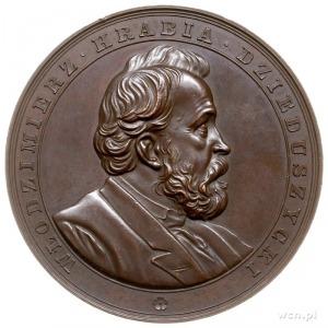 Włodzimierz hrabia Dzieduszycki - medal medal sygnowany...