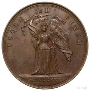 medal autorstwa W. A. Malinowskiego na 50 rocznicę Pows...