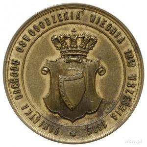 Jan III Sobieski - medal na pamiątkę 200. rocznicy Odsi...
