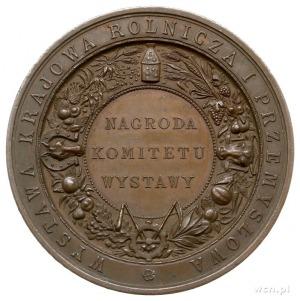 Wystawa Rolnicza i Przemysłowa w Krakowie 1887 r., meda...