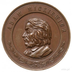 przeniesienie zwłok Adama Mickiewicza na Wawel - medal ...