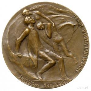 Adam Mickiewicz - medal autorstwa Wacława Szymanowskieg...