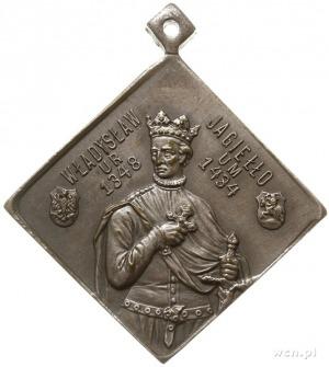 500-lecie Bitwy Grunwaldzkiej medalik wybity w 1910 r.,...
