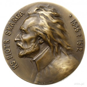 Piotr Skarga 300. rocznica śmierci - medal autorstwa Wi...