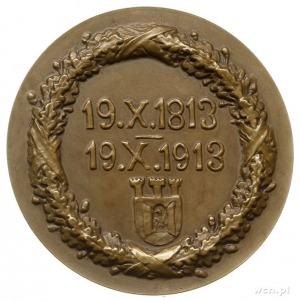 setna rocznica śmierci Józefa Poniatowskiego - medal au...