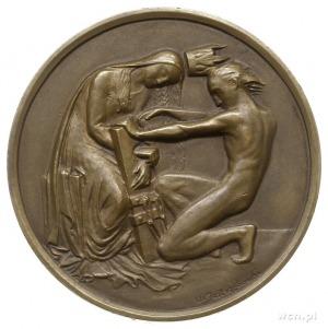 50. rocznica Powstania Styczniowego, medal autorstwa Wo...