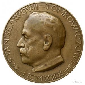 medal sygnowany K. HUKAN (Karol Hukan) z 1930 r., poświ...