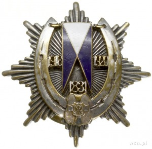 podoficerska odznaka pamiątkowa 19 Pułku Ułanów Wołyńsk...