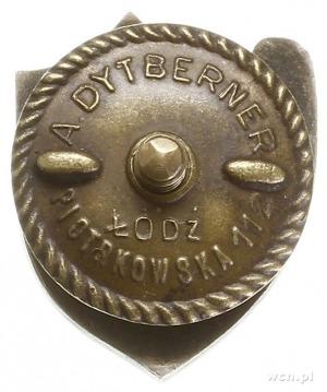 odznaka pamiątkowa Pabianickiego Towarzystwa Cyklistów,...