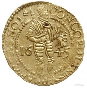dukat 1645; Fr. 249, Purmer Ho13, Delm. 774; złoto 3.47...
