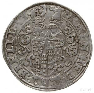 talar bez daty (1556-1568); Aw: Popiersie księcia w lew...