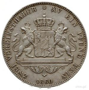 dwutalar 1860, Monachium; Dav. 607, AKS 147, J. 95, Thu...