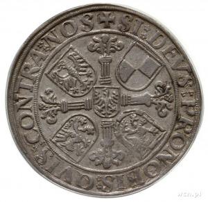 talar 1544, Schwabach; emisja po śmierci Jerzego z Ansb...