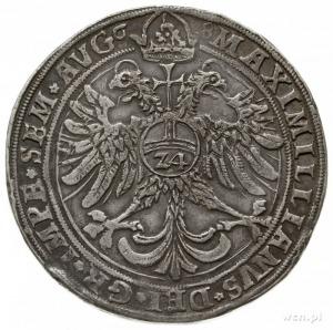 talar 1568, Goslar; z tytulaturą cesarza Maksymiliana I...