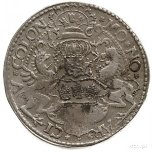 talar 1569; z tytulaturą Maksymiliana II; Dav. 9155; sr...