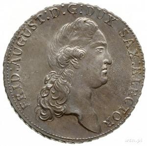 talar 1789 IEC, Drezno; Dav. 2695, Buck 161.c, Mersebur...