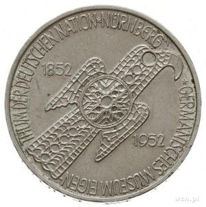 5 marek 1952 D, Monachium; 100-lecie Germanisches Museu...