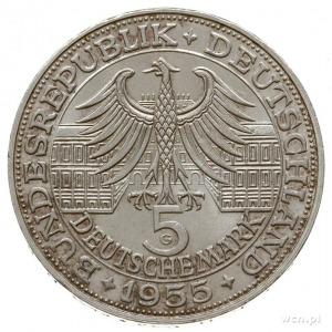 5 marek 1955 G, Karlsruhe; wybite na 400. rocznicęurod...