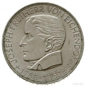 5 marek 1957 J, Hamburg; wybite na 100. rocznicę śmierc...