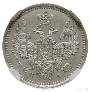 5 kopiejek 1851 СПБ ПА, Petersburg; Bitkin 409, Adriano...