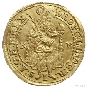 dukat 1701 KB, Krzemnica; Fr. 128, Huszár 1322; złoto 3...