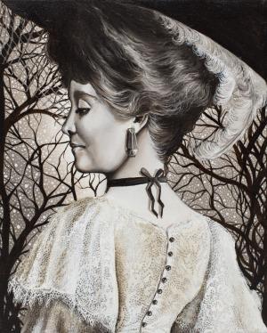 Marta Julia Piórko, Portret damy, 2017