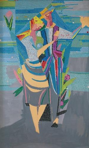 Tadeusz GRONOWSKI (1894-1990), Wiosna - projekt mozaiki