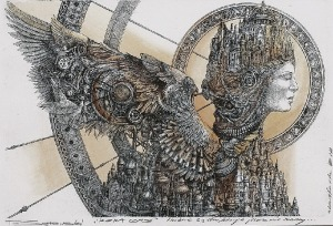 Tomasz SĘTOWSKI (ur. 1961), Ikona czasu, 2016