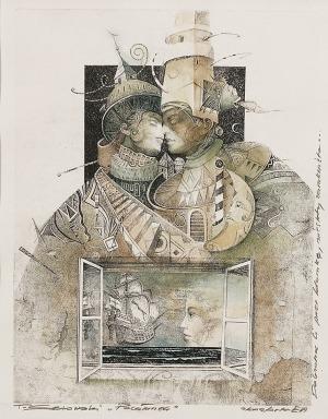 Tomasz SĘTOWSKI (ur. 1961), Pocałunek