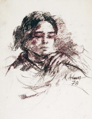 Marian ADAMCZYK (ur. 1938), Dziewczyna, 1978