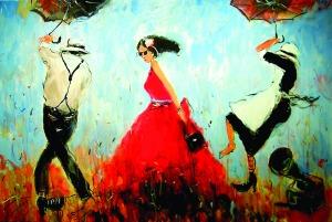 Dariusz Grajek, Czerwona sukienka, 2016
