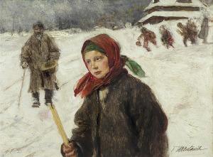 Axentowicz Teodor, NA GROMNICZNĄ