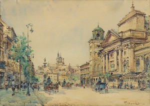 Chmieliński (Stachowicz) Władysław, KOŚCIÓŁ ŚW. ANNY W WARSZAWIE, PRZED 1939