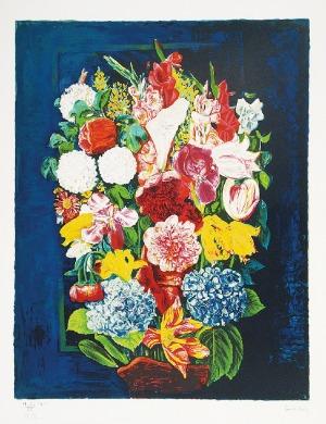 Mojżesz KISLING (1891-1953), Kwiaty w wazonie